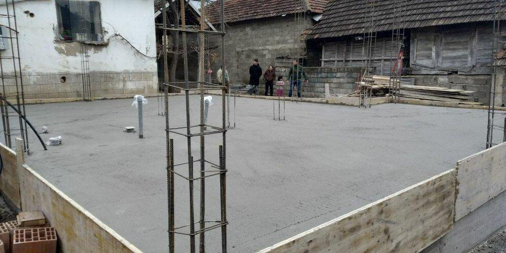 нова кућа за породицу Максимовић